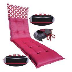 Faltmatratze 195 cm x 65 cm x 10 cm - FLOWER